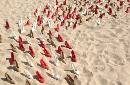 Dorota Sak, Skąd przychodzimy, kim jesteśmy, dokąd zmierzamy - obiekt 300 butów 2007