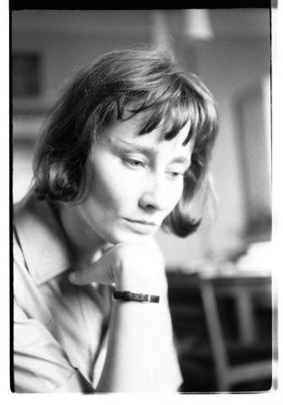 Halina Poświatowska, 1964, fot. fot. R. Ingarden, foto©archiwum Krzysztofa Ingardena