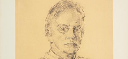 Józef Mehoffer. Autoportret