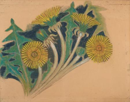 Stanisław Wyspiański, Kwiaty mlecza. Projekt do dekoracji malarskiej do fary w Bieczu