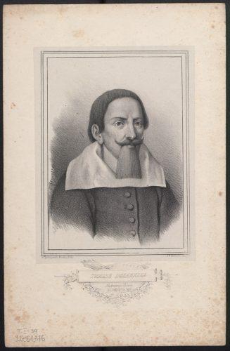 Jan Feliks Piwarski, Portret Tomasza Dolabelli, przed 1850, cynkografia. Warszawa, Biblioteka Narodowa. Fot. Polona