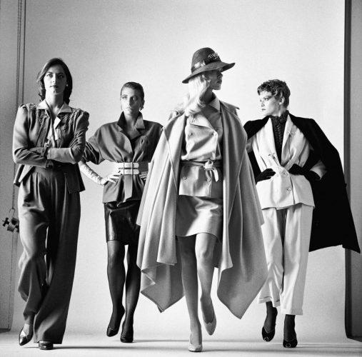 HELMUT NEWTON, Sie kommen dressed, French Vogue Paris, 1981