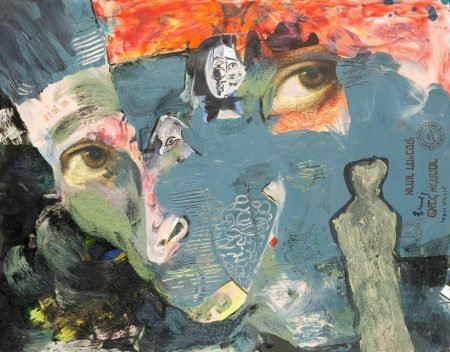 Paweł Althamer, Artur Żmijewski, bez tytułu | 2019, technika mieszana, 51 × 65 cm, courtesy P. Althamer / A. Żmijewski, Fundacja Galerii Foksal