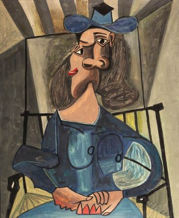 Marian Eile, bez tytułu, b.d., tempera / deska, 66 × 56 cm (w oprawie), courtesy M. Buczyńska