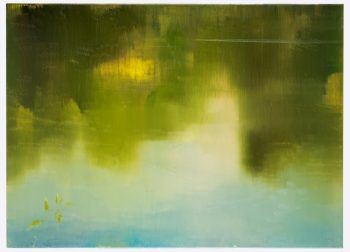 Stanisław Baj, Rzeka Bug. Lato, olej, płótno, 80 x 110 cm, 2020