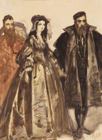Jan Matejko, Barbara Radziwiłłówna i Zygmunt August