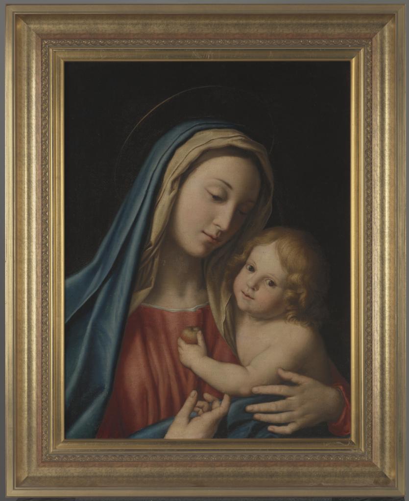 Giovanni Battista Salvi, znany szerzej jako Sassoferrato (1609—1685), Madonna z Dzieciątkiem