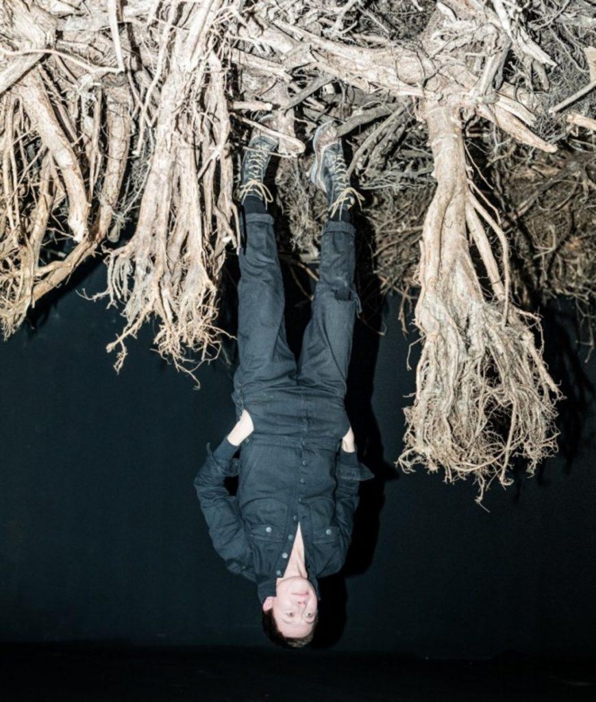 Joanna Rajkowska na wystawie Rhizopolis, fot. Monika Stolarska