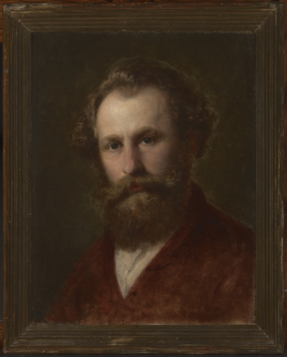Aleksander Kotsis, Autoportret, 1870-1874