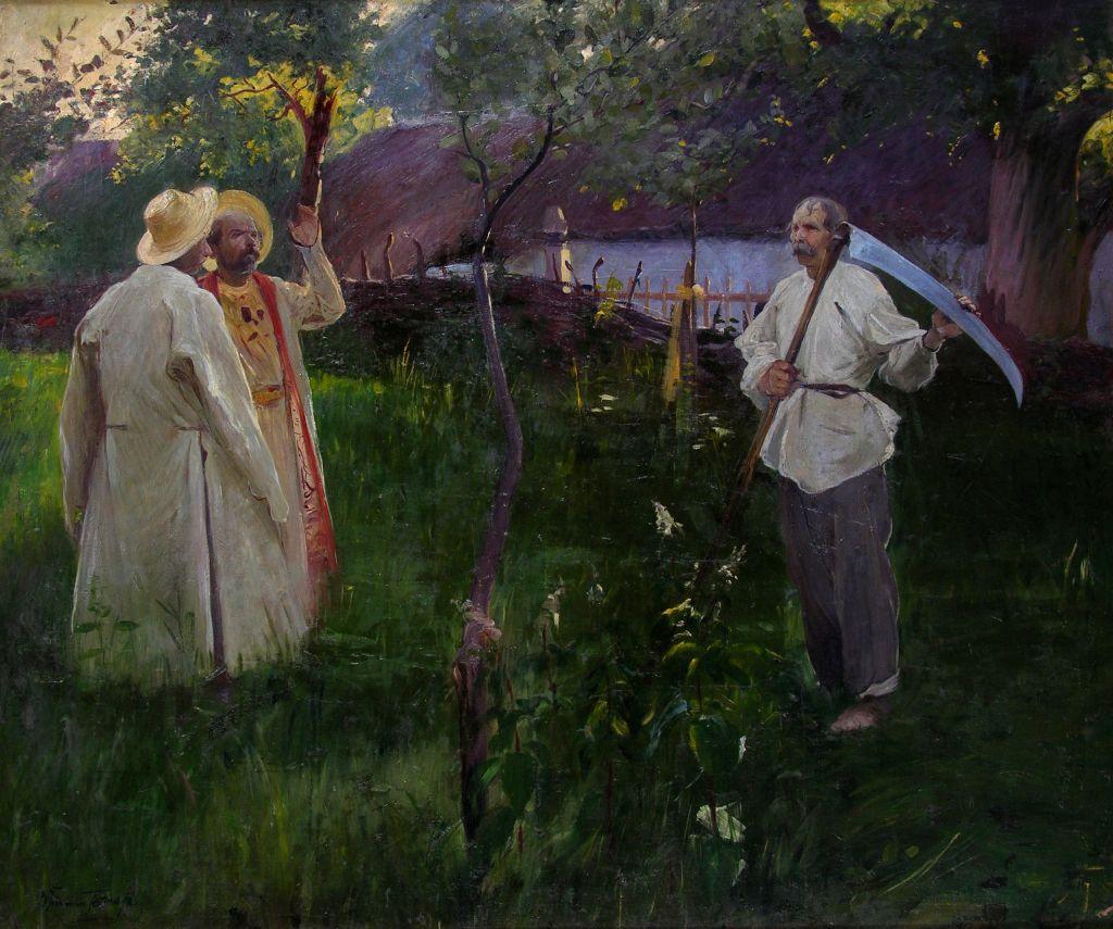 Włodzimierz Tetmajer, Piastowi goście, Muzeum Mazowieckie w Płocku, niezła sztuka