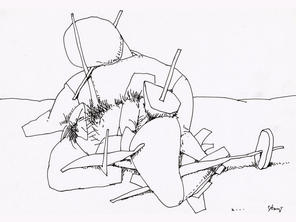 Stasys Eidrigevičius, rysunki, Stasys, wystawa, Muzeum Karykatury, niezła sztuka