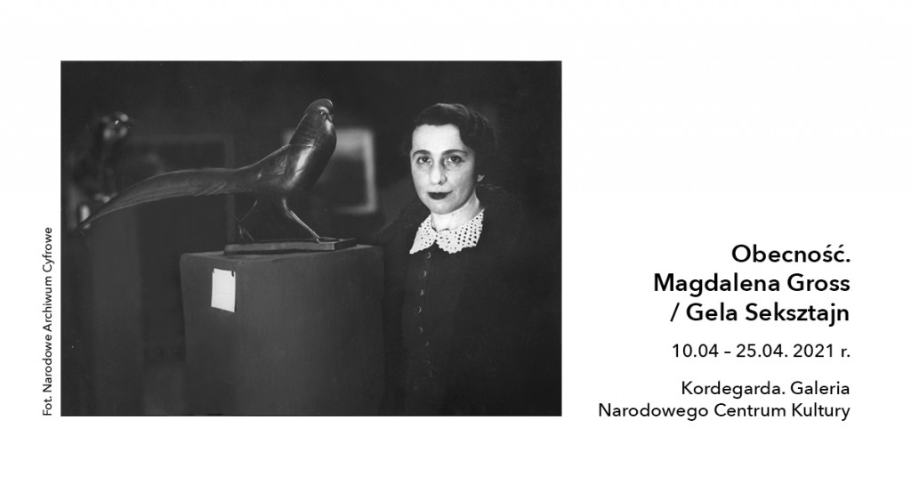wystawa Magdalena Gross, Gela Seksztajn, galeria kordegarda, niezła sztuka