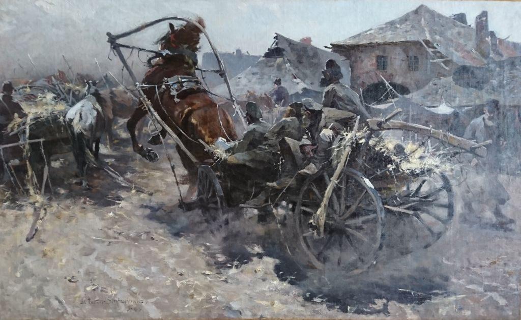 Stanisław Bohusz-Siestrzeńcewicz, niezła sztuka
