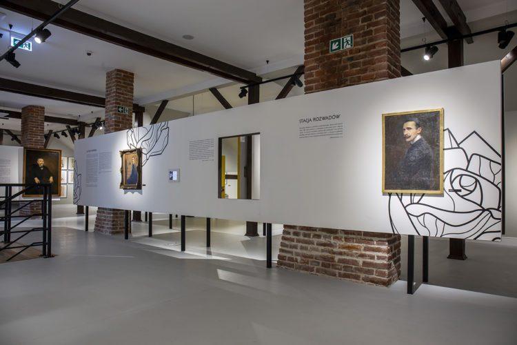 Galeria malarstwa Alfonsa Karpińskiego, wnętrze, Niezła Sztuka