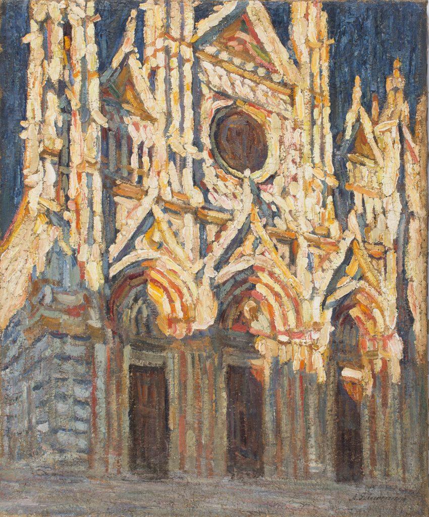 Aleksander Szturman, Katedra w Sienie, malarstwo XX w., niezła sztuka