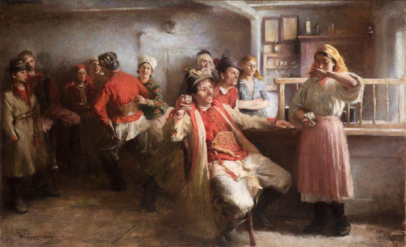 Wlodzimierz-Tetmajer-Zaloty, młoda polska, malarstwo XIX w., niezła sztuka