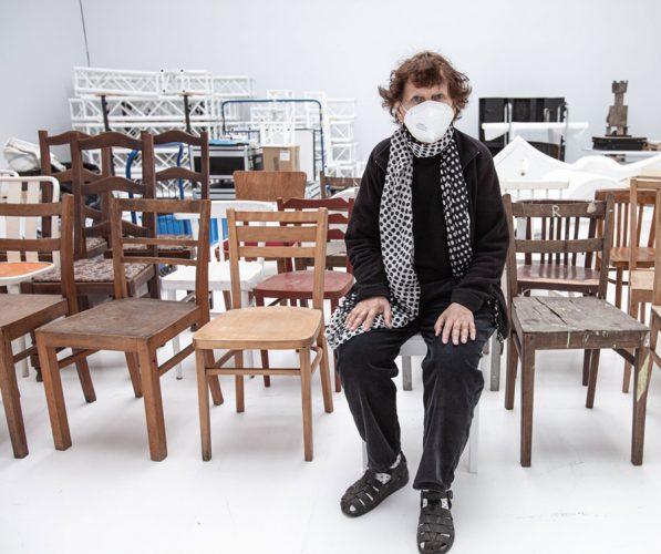 Ewa Kuryluk, Krzesło, sztuka XX w., instalacja, niezła sztuka
