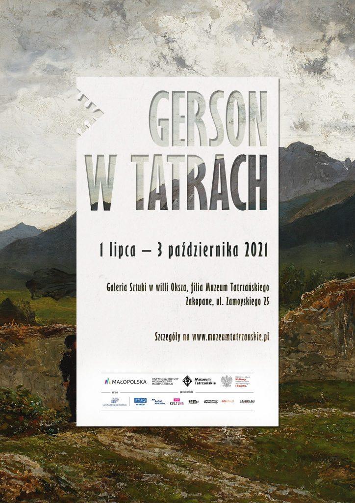 Gerson w Tatrach. Wystawa tatrzańskich pejzaży Wojciecha Gersona