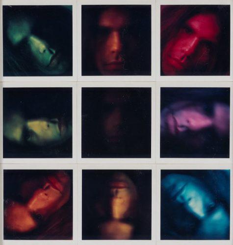 Peter Campus, Bez tytulu. 9 polaroids, fotografia, sztuka XX wieku, Niezła Sztuka
