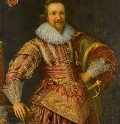 Franz Kessler?, Portret Johanna von Bodeck, sztuka dawna, malarstwo XVII w., Niezła Sztuka