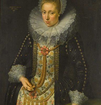 Franz Kessler?, Portret Suzanny van Uffelen , sztuak dawna, malarstwo XVII w., Niezła Sztuka