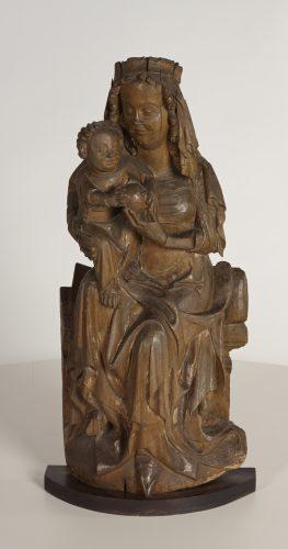 Mistrz Paweł (XVI w.), Madonna z Dzieciątkiem, sztuka dana, sztuka XVI w., rzeźba, Niezła Sztuka