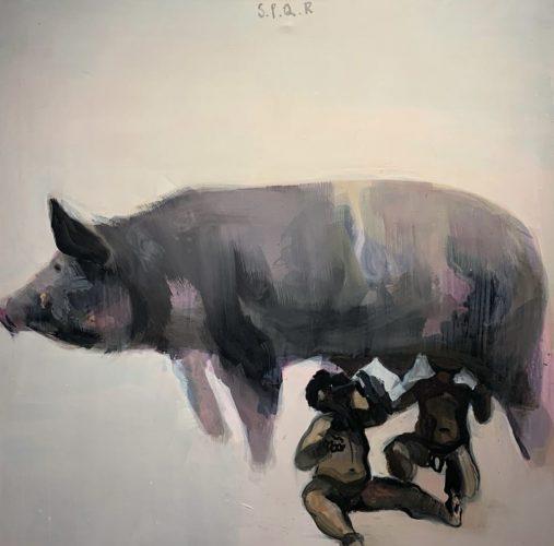 Radek Szlaga, S.P.Q.R., malarstwo, sztuka polska, sztuka XX w., Niezła Sztuka