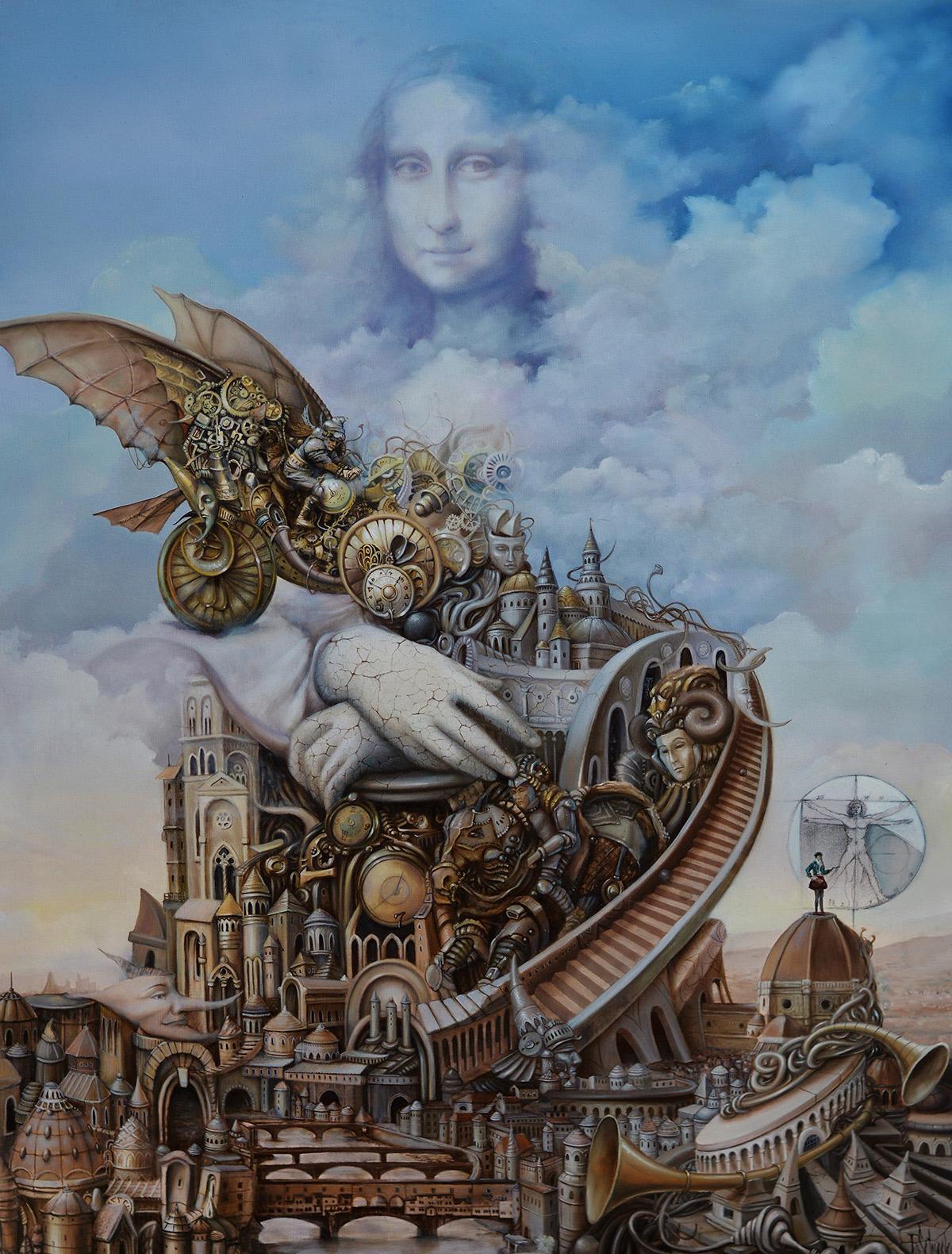 Tomasz Sętowski, malarstwo polskie, realizm magiczny, imaginarium, Galeria van Rij, niezła sztuka