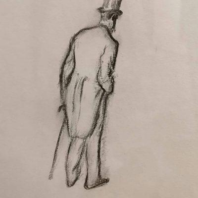 Edgar Degas. Impresjonizm szczera prawda, ilustracja, grafika, sztuka XIX w., Niezła Sztuka