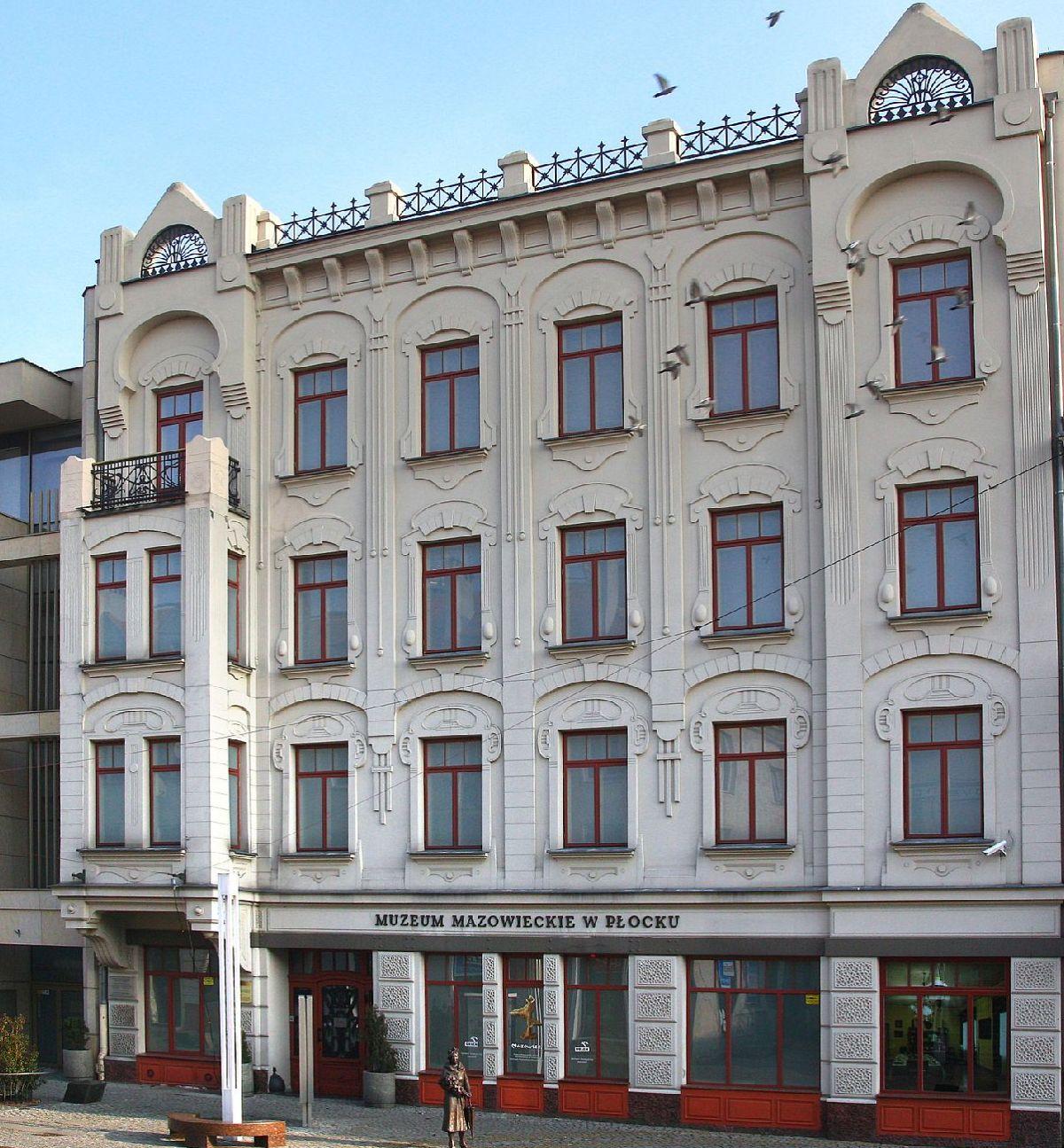 Muzeum Mazowieckie w Płocku, art deco, secesja, niezła sztuka