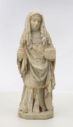 Święta Elżbieta, warsztat czeski (praski) , sztuka dawna, rzeźba, Niezła Sztuk