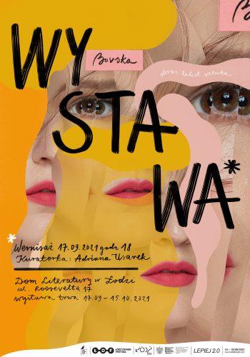BOVSKA, projekt Bovska, Magda Grabowska Wacławek, plakat, Niezła Sztuka