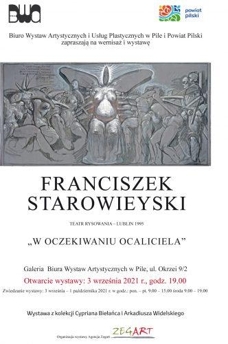 Franciszek Starowieyski. Teatr Rysowania. W oczekiwaniu Ocaliciela, Niezła Sztuka