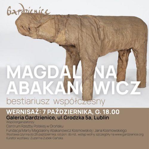 Magdalena Abakanowicz. Bestiariusz współczesny, Niezła Sztuka