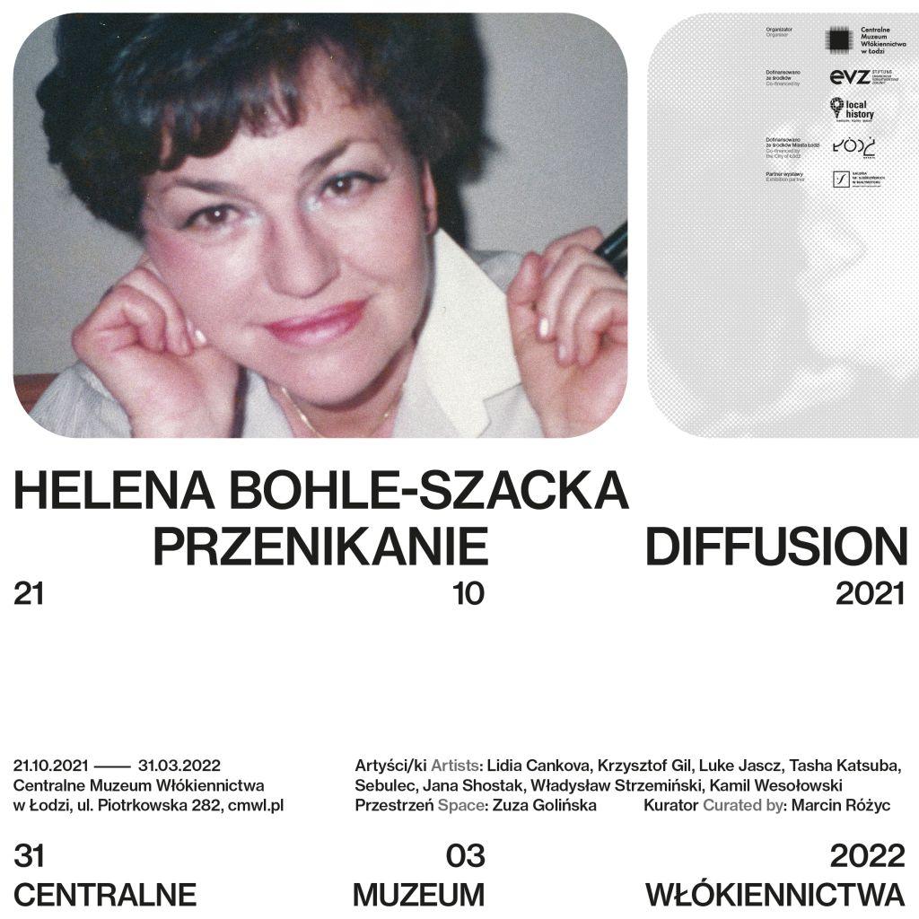 Helena Bohle-Szacka. Przenikanie, Centralne muzeum włókiennictwa w Łodzi, niezła sztuka