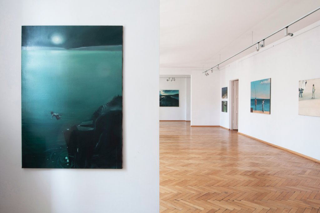 Rafał Wilk. Find your way home. Galeria aTak, Warszawa, październik 2012. fot. Adam Gut